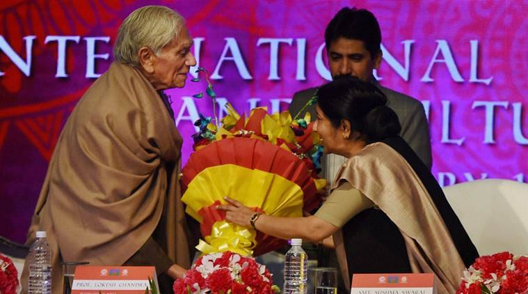 sushma swaraj, roma, iccr, Antar Rashtriya Sahayog Parishad-Bharat, International Roma Conference and Cultural Festival, india news, latest news