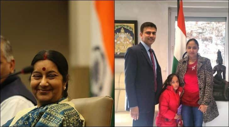 sushma swaraj, sushma swaraj twitter, MEA, india foreign minister, sushma swaraj gurpreet, sushma swaraj news, india news, indian woman germany