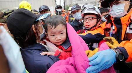 115 bodies pulled out from Taiwan quake rubble; 2 missing
