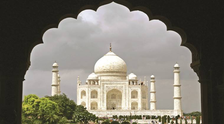 This is the third case in a year when a portion of the Taj Mahal has fallen off while renovation work by the Archaeological Survey of India is going on.