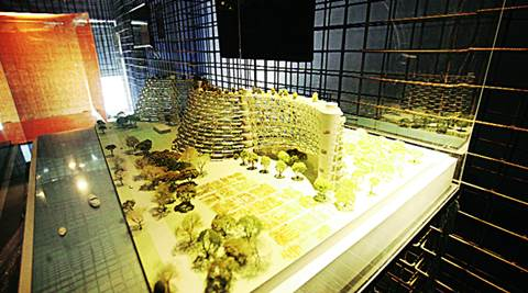 fernando menis, santa cruz, exhibition, architectural models, india design, okhla