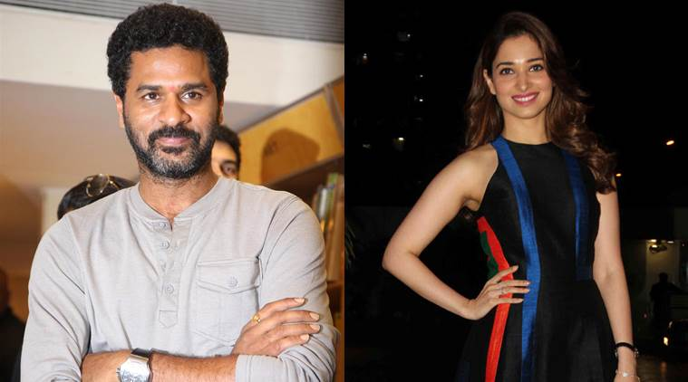 Tamannaah Bhatia, Prabhdheva, Tamannaah Bhatia Prabhudheva, Tamannaah Bhatia Films, Tamannaah Bhatia upcoming Film, Tamannaah Prabhudheva, Prabhudheva Film, Entertainment news