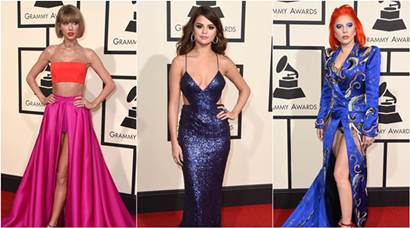 grammy awards, grammys, 58th grammy awards, grammy red carpet, grammy red carpet celebrities, lady gaga, lady gaga grammys, grammy awards celebs, taylor swift, ellie goulding, selena gomez, justin bieber, timbaland, pharell williams, grammy red carpet picture, grayy awards pics, entertainment