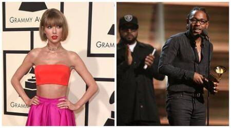 Taylor Swift kicks off Grammys, Kendrick Lamar wins 5 awards