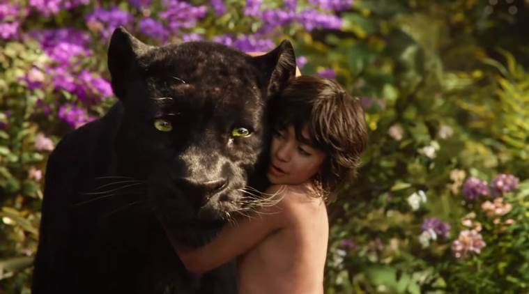 The Jungle Book trailer, the Jungle Book Movie Trailer, The Jungle Book, The Jungle Book Film trailer, The Jungle Book Film, The Jungle Book Live Action, Mowgli, Bagheera, Shere Khan, Baloo, Kaa, Idris Elba, Ben Kingsley, Bill Murray, Scarlett Johansson, Christopher Walken, The Jungle Book Series, Entertainment news