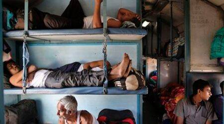 Railway admits it washes blankets once in two months