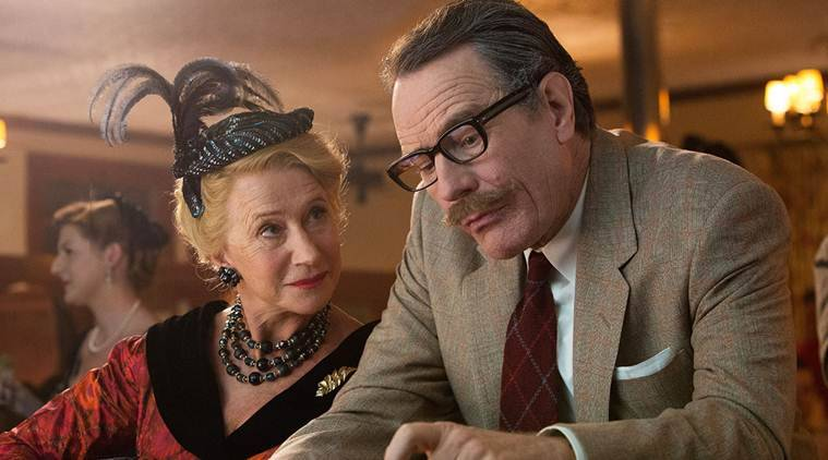 Trumbo Movie review, Trumbo Review, Trumbo film review, Trumbo, Trumbo movie ratings, Trumbo Film, Bryan Cranston, Diane Lane, Helen Mirren, movie review, film review, movie review of Trumbo, review, Trumbo Film ratings, Entertainment news