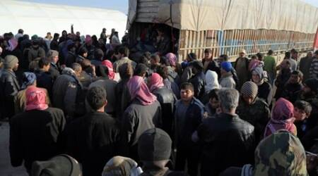 Turkish border crossing closed as Syrians flee govt offensive