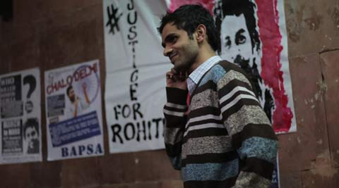 JNU link to DU protests: Invite to Umar Khalid