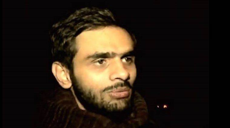 umar khalid, jnu, jnu umar khalid, jnu row, umar khalid search, jnu sedition case, jnu protest, jnu afzal guru event, jnu news india news, latest news