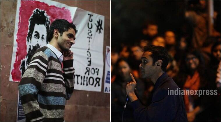 NU students, Umar Khalid and Anirban Bhattacharya
