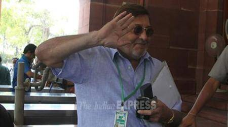 BJP MP Vinod Khanna visits his constituency after months, Oppn says to attendwedding