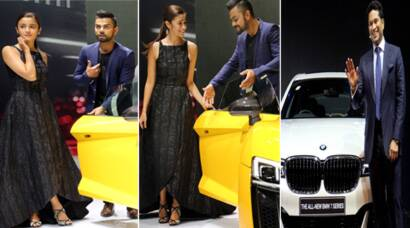 Virat Kohli, Alia Bhatt, Sachin Tendulkar at Auto Expo 2016 in Greater Noida