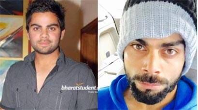 Virat Kohli's Instagram diaries – from chubby teenager to fit cricketer