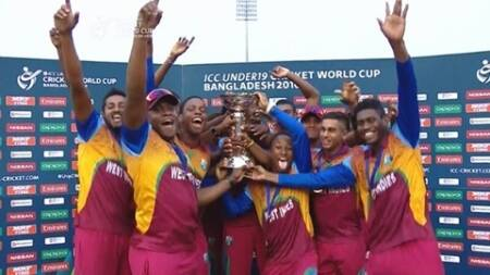 U-19 World Cup 2016: West Indies beat India, lift maiden title