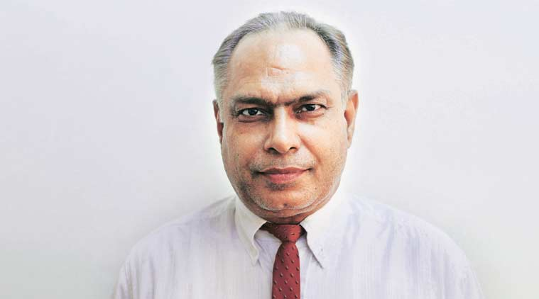 Yogesh Tyagi, Dean and Professor, Faculty of Legal Studies, South Asian University. (Express Photo)