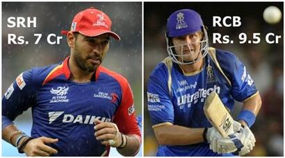 IPL Auction 2016: Pawan Negi, Yuvraj Singh top Indian buys; Shane Watson costliest player