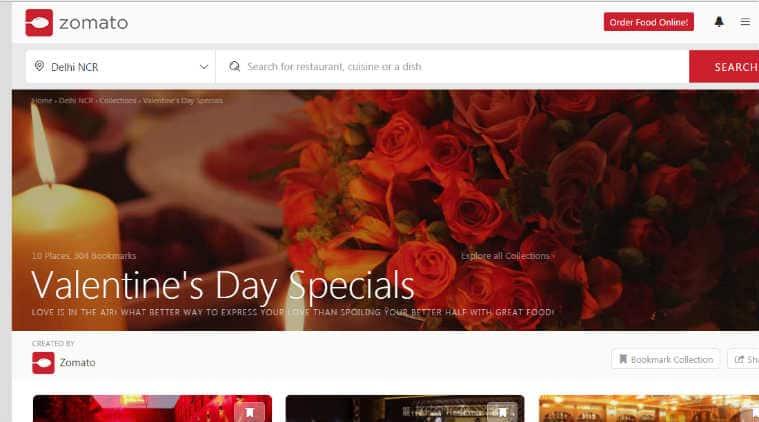 Valentines Day, Valentine Day gifts, Valentine Day apps, Zomato, Jabong, Floraa, Ferns n Petals, order flowers, book restaurant, smartphones, technology, technology news