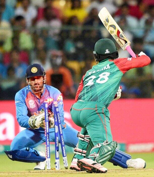 Tamim Iqbal, MS Dhoni, Chinnaswamy Stadium, Bangalore, india vs bangladesh, india vs bangladesh, cricket photos