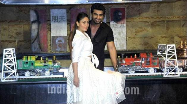 Arjun Kapoor, kareena kapoor khan, ki and ka, r balki, kareena, arjun, ki and ka pics, arjun kareena, arjun kapreen kareena pics, arjun kapoor pics, kareena kapoor khan pics, kareena pics, arjun pics, entertainment