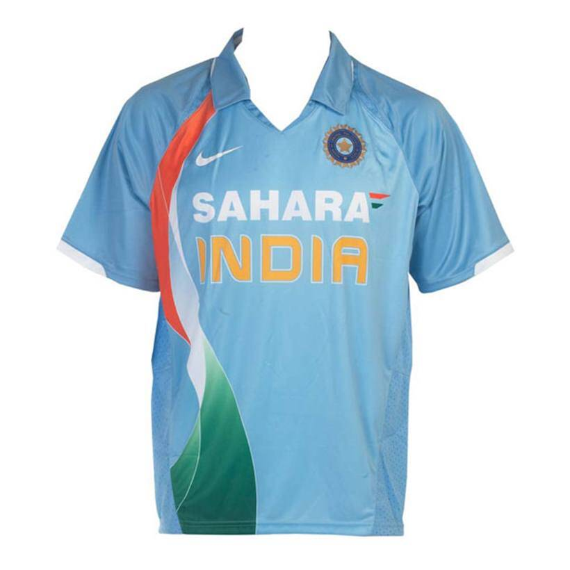 e60e75324 How Indian cricket team s jersey has progressed over the years ...