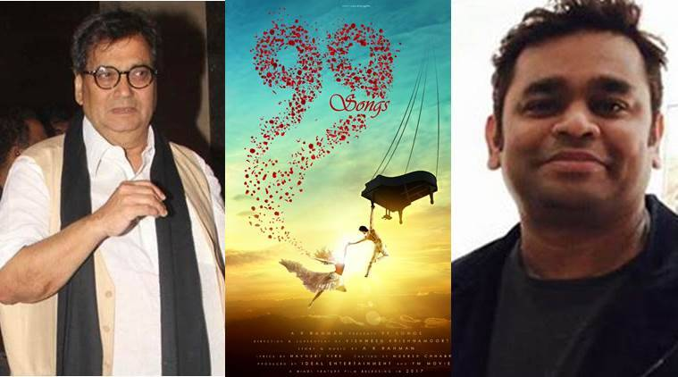 A.R. Rahman, A.R. Rahman 99 songs, 99 songs, A.R. Rahman news, Subhash Ghai, Subhash Ghai news, entertainment news