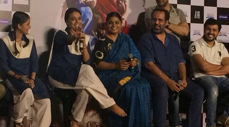 Nil Battey Sannata, Nil Battey Sannata Trailer, Nil Battey Sannata Trailer launch, Aanand L Rai, Aanand L rai Nil Battey Sannata, Nil Battey Sannata movie trailer, Swara Bhaskar, Entertainment news