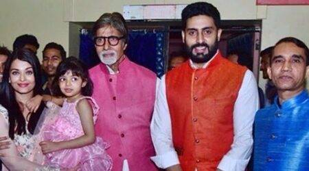 Aishwarya, Abhishek, Amitabh Bachchan are proud at Aaradhya's Annual Day function