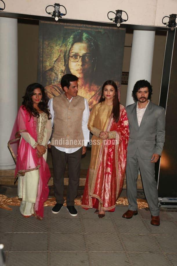 Aishwarya, Richa Chadda, Darshan Kumaar, Omung Kumar