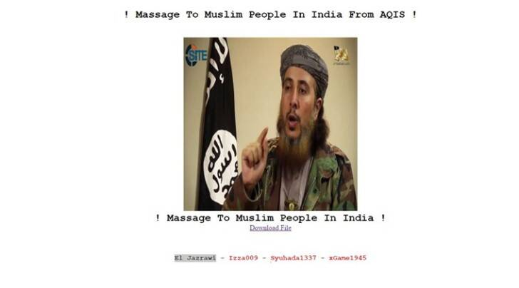 al qaeda, muslims in india, al qaeda india head, maulana aasim umar, ISIS, islamic state, govt website hacked, website hacked al qaeda