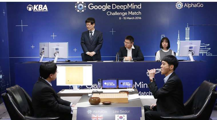AlphaGo, Lee Sedol, Lee Sedol AlphaGo, Lee Sedol vs AlphaGo, DeepMind, DeepMind YouTube, DeepMind Google, AI, Go, Chinese game Go, technology, indian express editorial, indian express