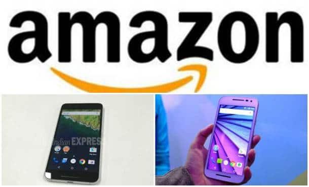 Amazon mega mobile sale, Amazon India, Amazon discounts, Amazon smartphone deals, Nexus 6P, Nexus 6P discount, Nexus 6P review, Moto discounts, Moto G3 deal, Moto G Turbo, Coolpad Note 3, Huawei Honor 4X, Intex Cloud Crystal, technology, technology news