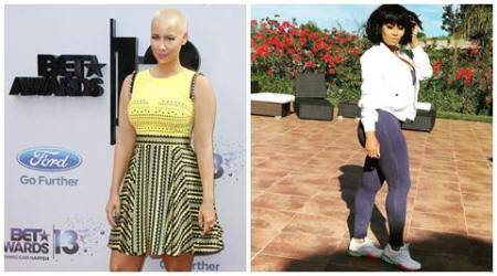 Amber Rose gives love tips to BlacChyna
