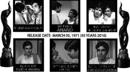 45 years of 'Anand', Amitabh Bachchan remembers Rajesh Khanna