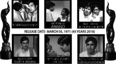 45 years of 'Anand', Amitabh Bachchan remembers RajeshKhanna
