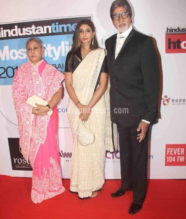 Amitabh Bachchan, Jaya Bachchan, Shweta nanda