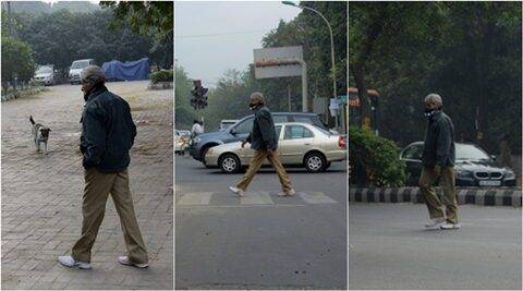 Megastar Amitabh Bachchan roams in Delhi without being  recognised