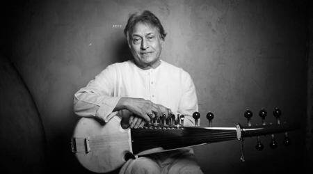 Veteran Sarod player Amjad Ali Khan awarded for excellence in Indian classical music