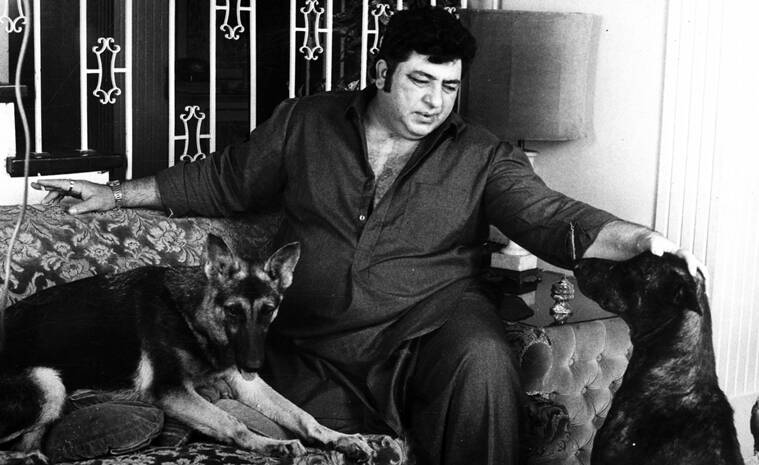 Actor Amjad Khan. Express archive photo credit to Rathijit Ghatak