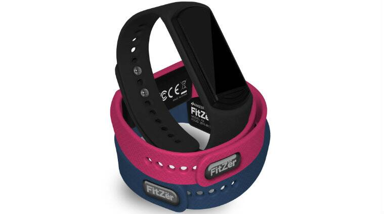 Amzer FitZer is the latest fitness tracker from US based smartphone company (Source: Amzer)