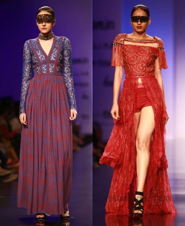 AIFW A/W'16: Shriya Saran walks the ramp for designer Kanika Saluja's brand Anaikka