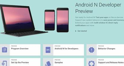 Android, Android N, Google Android N Developer Preview, Android N features, Android N update, Android N split-screen multitasking, Android N launch, Google I/O, tech news, technology