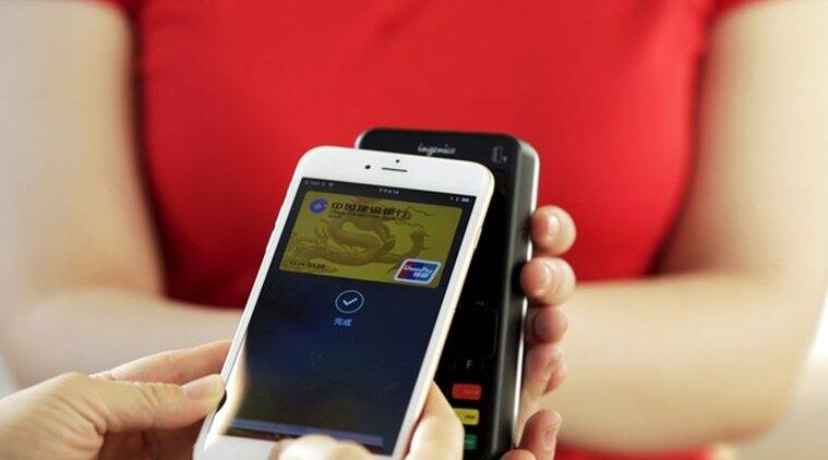 The mobile payments system will be available to shoppers who use iPhone and iPad models that have the company's fingerprint technology