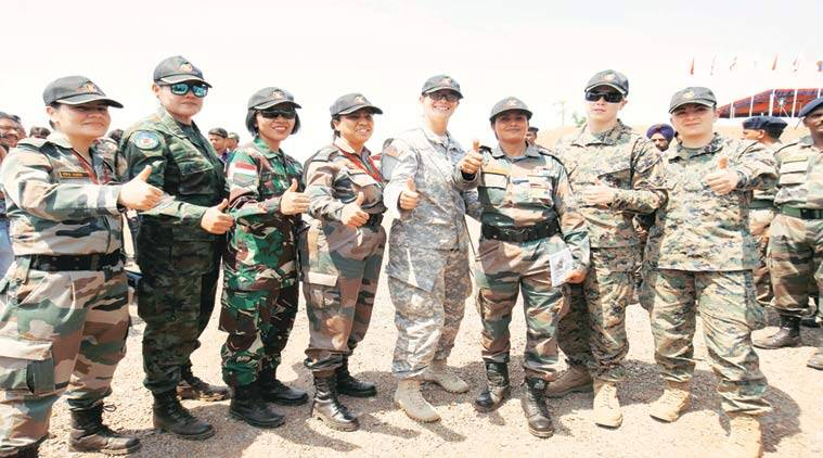 women in uniform, women in combat roles, gender equality, bipin rawat, women army, gender discrimination, indian express