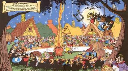 How Asterix, Archie and Tintin whetted our appetite for roast wild boar, burgers and 'Szlaszeck with mushrooms'