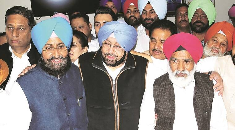 Punjab assembly elctions 2017, punjab polls, punjab elections, Punjab congress, Amarinder singh, captain amarinder singh, Pratap singh bajwa, rahul gandhi, punjab polls news, indian express news