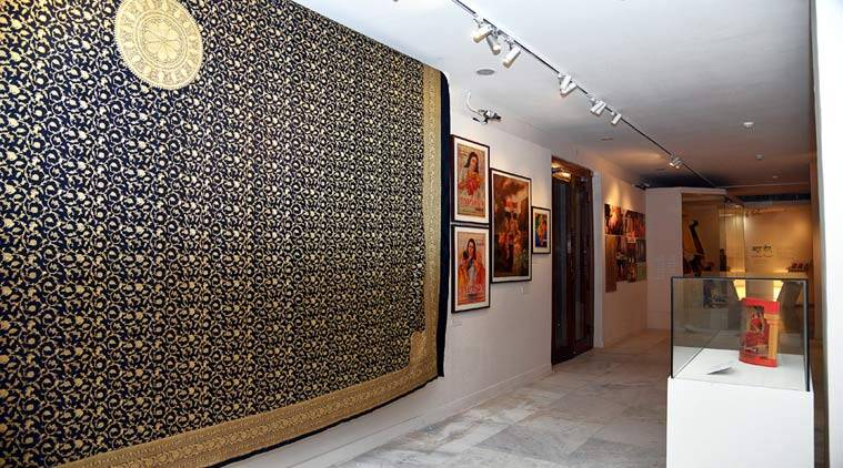 exhibition, banarasi sari exhibition, sari exhibition, ritu kumar, varanasi weave, aditi rao hydari, india foundation for the arts, talk