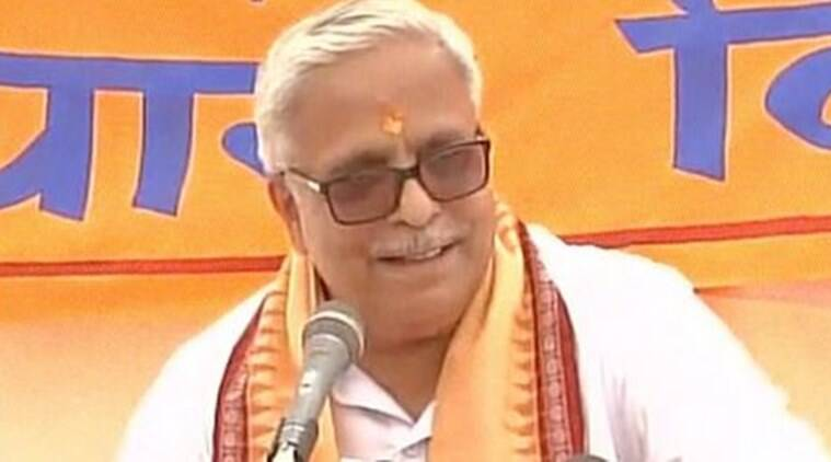 "On the issue of anti-national slogans raised in JNU, RSS general secretary Suresh Bhayyaji Joshi said it was a ""serious matter for all patriotic citizens"" and it should not be politicised. (Source: ANI photo)"