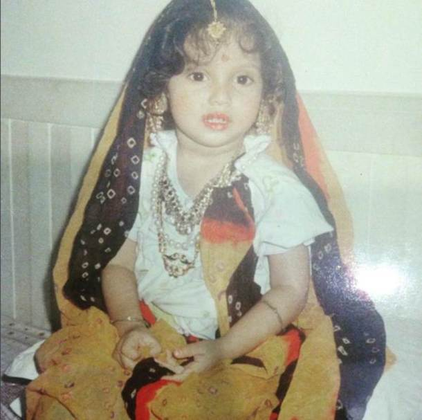 bhumi pednekar, bhumi pednekar childhood pics, bhumi pednekar childhood, guess who celebrity, bhumi pednekar photos, entertainment
