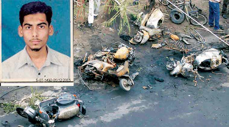 He was wanted in the 2008 Ahmedabad blasts that killed 56.